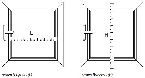 Сделать замер рулонных штор мини самостоятельно инструкция фото
