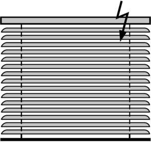 Горизонтальные жалюзи с электроприводом Алюминиевые 16 и 25 мм.