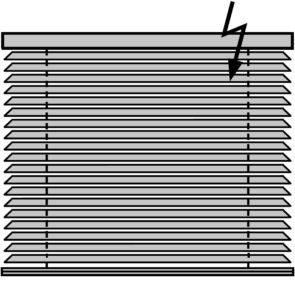 Горизонтальные жалюзи с электроприводом Деревянные и Бамбуковые 25 мм.